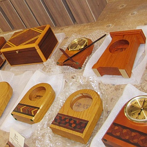 Handcrafted Wood Products - Gifts, clocks, boxes, shelves and more