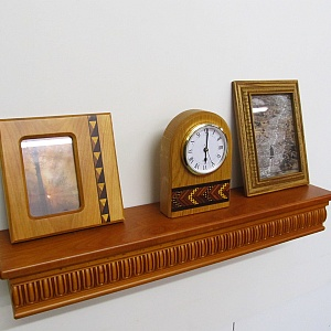 Handmade Wooden Products including clocks, picture frames, boxes, shelves and more