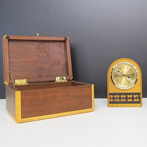 Handcrafted wood products - boxes, clocks, frames and more