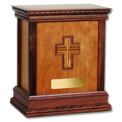 Cross Classic Wood Cremation Urn