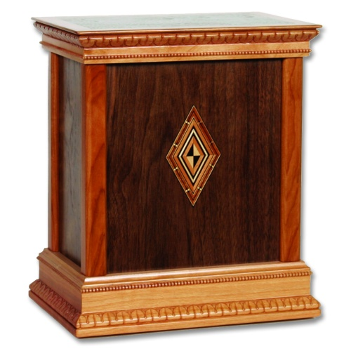 Harmony Classic Wood Cremation Urn