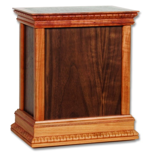 Standard Classic Wood Cremation Urn