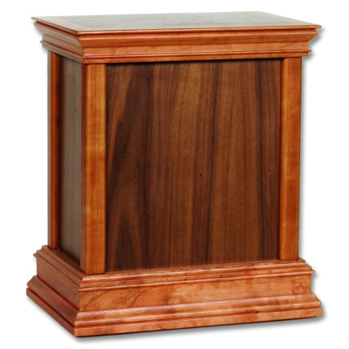 Standard Contemporary Wood Cremation Urn